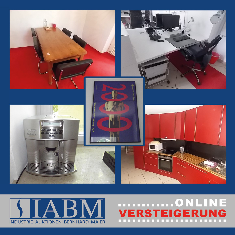 Auktion - 5 Promotionhaus Büromöbel | IABM