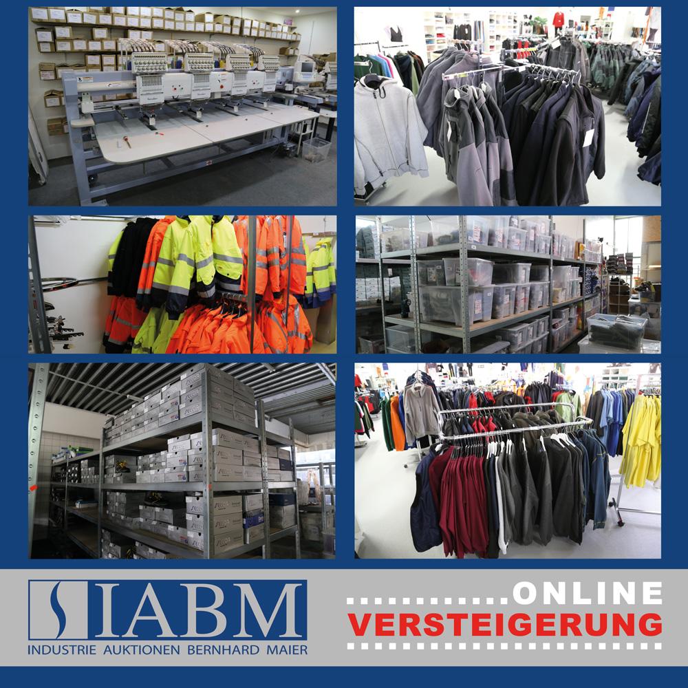 Auktion - 6 Phodax GmbH, Arbeitsbekleidung, Büromöbel, Fahrzeug, | IABM