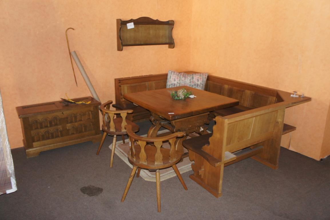 eckbankgruppe landhausstil bauernm bel objektdetail. Black Bedroom Furniture Sets. Home Design Ideas